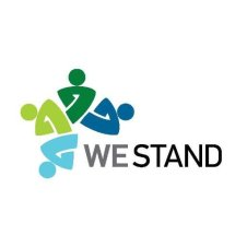 we stand logo